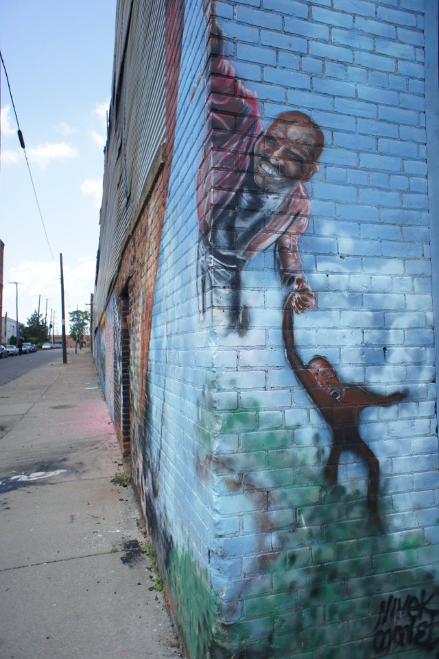 Iron St. Murals in Detroit. Photo Credit: Pendarvis Harshaw