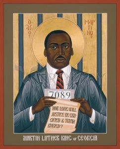 Icon of Martin Luther King